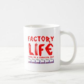 Vida de la fábrica tazas