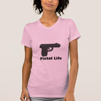 Vida de la pistola camiseta