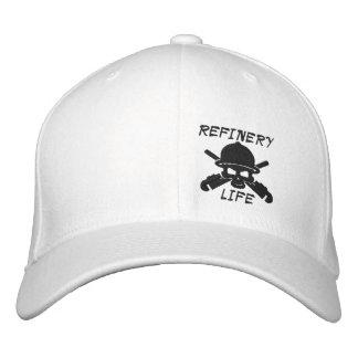 Vida de la refinería - frente solamente (costura gorras bordadas