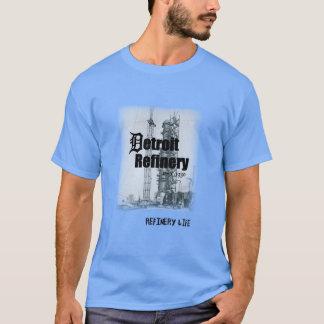 Vida de la refinería - historia de Detroit Camiseta