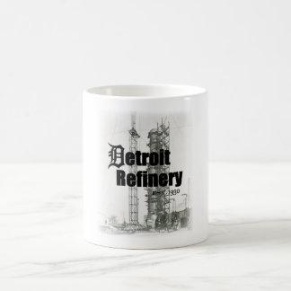 Vida de la refinería - lección histórica de la taza de café