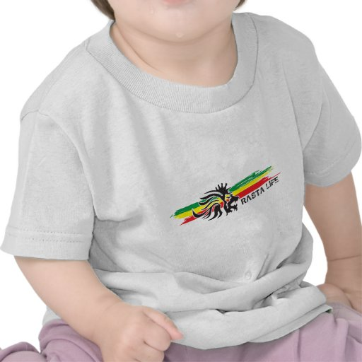 Vida de Rasta Camiseta