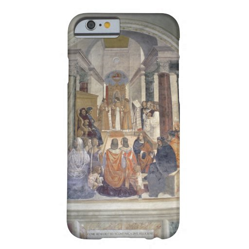 Vida de St. Benedicto (fresco) (detalle) Funda De iPhone 6 Barely There