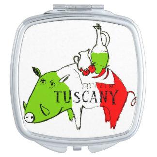 Vida de Toscana Espejo De Maquillaje
