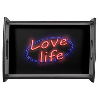 Vida del amor bandejas