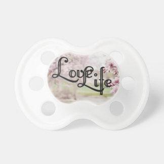Vida del amor chupete