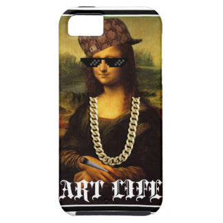 Vida del arte de la vida del gamberro de Mona Lisa Funda Para iPhone SE/5/5s