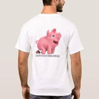 Vida del cerdo camiseta