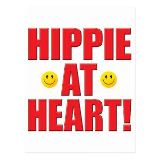 Vida del Hippie Tarjeta Postal