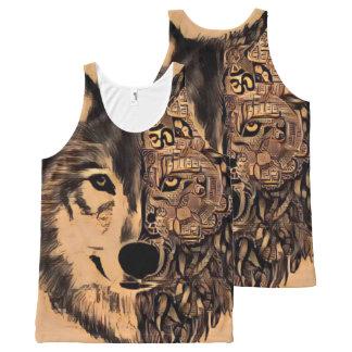 Vida del lobo camiseta de tirantes con estampado integral