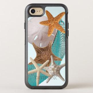Vida del océano de cinco estrellas de mar de las funda OtterBox symmetry para iPhone 8/7