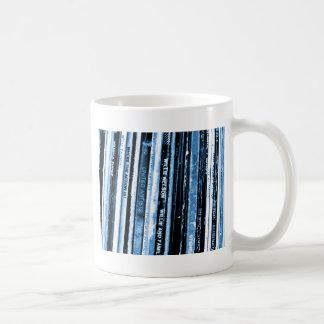 Vida del vinilo taza de café