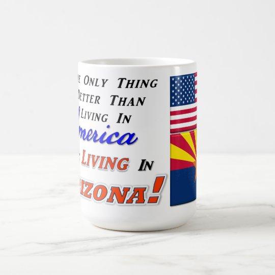 ¡Vida en Arizona! 15 onzas. Taza Morphing