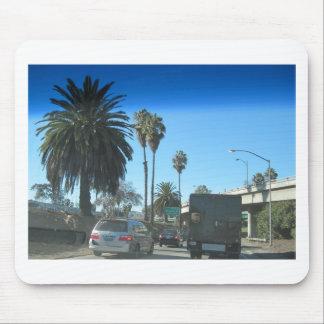 Vida en la autopista sin peaje de Los Ángeles Alfombrilla De Raton