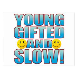 Vida lenta joven B Postal