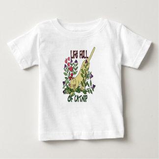 Vida por completo del Catnip Camiseta De Bebé