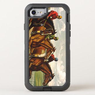 Vida SUPERIOR de la carrera de caballos Funda OtterBox Defender Para iPhone 8/7