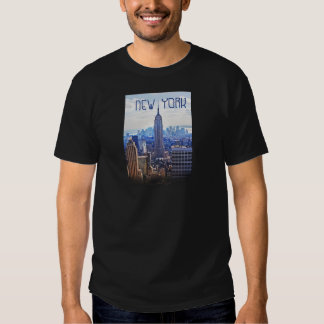 Vida urbana de Wellcoda New York City NYC los Camiseta