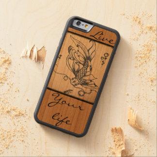 Vida viva funda de iPhone 6 bumper cerezo