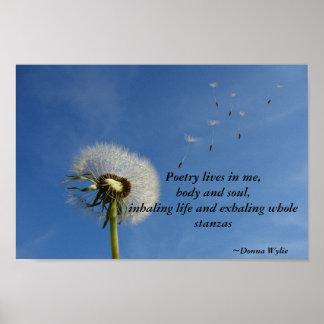 Vidas de la poesía en mí póster
