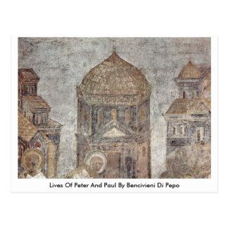 Vidas de Peter y de Paul de Bencivieni Di Pepo Postal