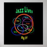 Vidas del jazz posters