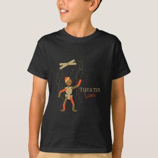 Vidas del teatro camiseta