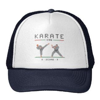 Videojuego del karate gorros bordados