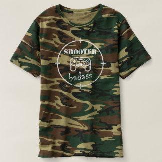 Videojugador Badass: Camisa de los militares de