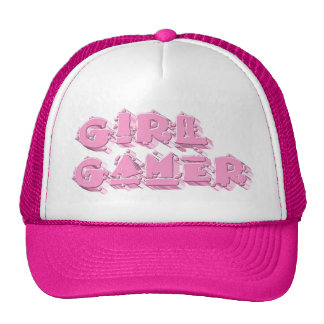 Videojugador del chica lindo gorras