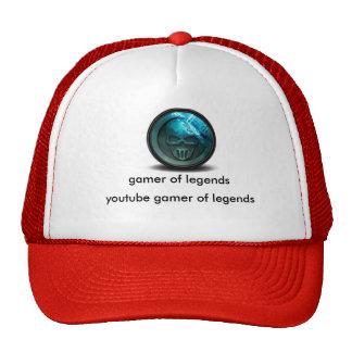 videojugador del gorra del camionero de las