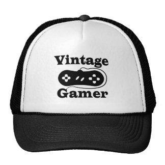 Videojugador del vintage gorras