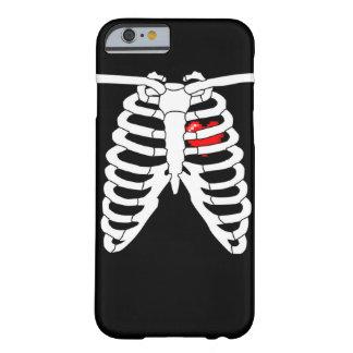Videojugador en el caso del iPhone 6 del corazón Funda Para iPhone 6 Barely There