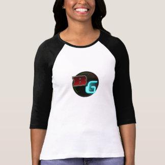 Videojugadores agujereados - camiseta del béisbol