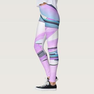 Vidrio coloreado leggings