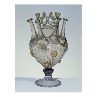Vidrio de Almorratxa, 16-17mo siglo Postal