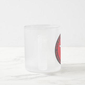 vidrio de cerveza helado ESPECIA del empollón de Taza De Cristal Esmerilado