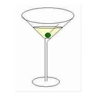 Vidrio de Martini Postal