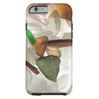 Vidrio del mar o vidrio de la playa funda para iPhone 6 tough