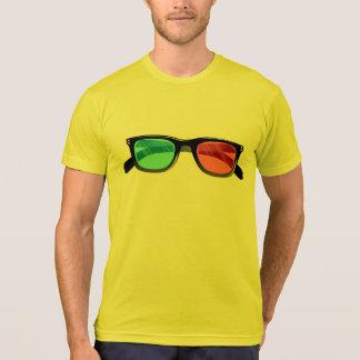vidrios 3d camiseta