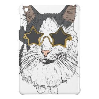 Vidrios de la estrella del gato que llevan