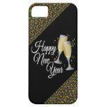 Vidrios de la Feliz Año Nuevo I Champán iPhone 5 Funda