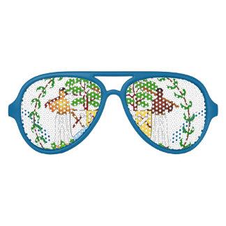 Vidrios de sol adultos del aviador de Belice Gafas De Fiesta