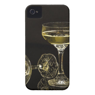 vidrios del champán carcasa para iPhone 4