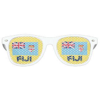 Vidrios del fiesta de la diversión de Fiji Gafas De Fiesta Retro