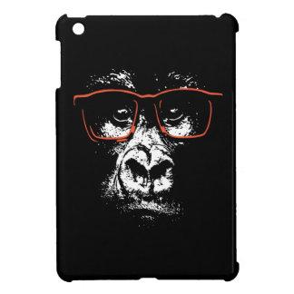 Vidrios del rojo del gorila