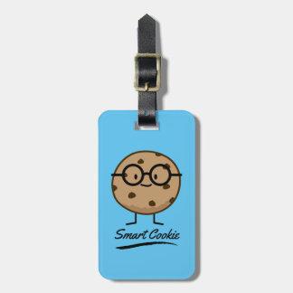 Vidrios elegantes de las galletas de etiqueta para maletas