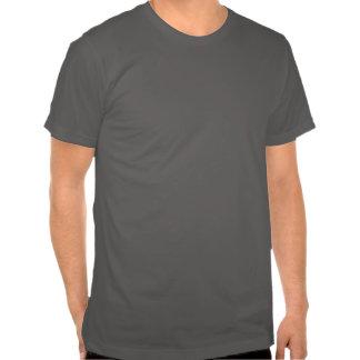 vidrios y bigote camiseta
