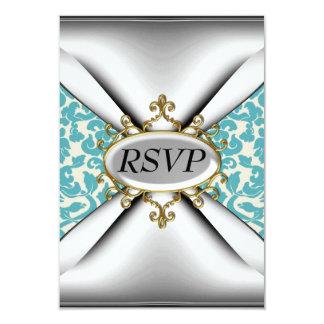 Vieja celebración RSVP de la fiesta de cumpleaños Invitación 8,9 X 12,7 Cm