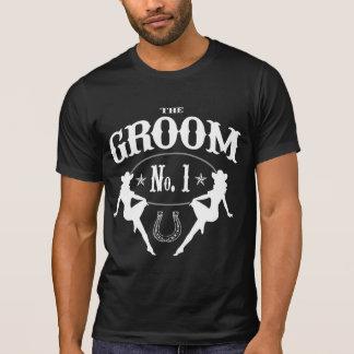 Vieja despedida de soltero del oeste - versión del camiseta